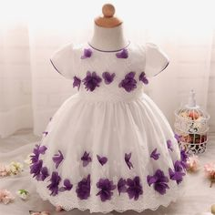Top Quality Kid Girl Dress Baby Clothing Brand Ceremonies Party Dresses Girls Clothes Costumes For Girl Wedding Christening Gown - Kid Shop Global - Kids & Baby Shop Online - baby & kids clothing, toys for baby & kid Baby Girl Skirts, Baby Girl Party Dresses, Baby Girl Tops, Girls Formal Dresses, Dresses Kids Girl, Baby Dress, Baby Girls, Newborn Girl Outfits, Toddler Girl Outfits