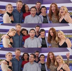 This cast though! <3 #OnceUponATime! <3