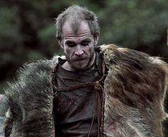 Floki Played by Gustaf Skarsgård, Vikings, great tv, powerful face, intense eyes, portrait, photo