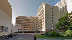 Le Chevaleret - Offices - 1975 by Jérôme Delaage & Fernand Tsaropoulos - #architecture #googlestreetview #googlemaps #googlestreet #france #paris #brutalism #modernism
