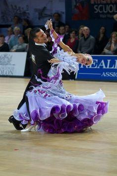 Paola Bosco and Joanne Clifton PD World Standard - Bassano, ITA © Roland