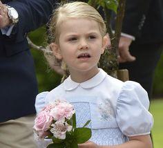 Princess Estelle.  Princess Victoria Birthday Celebrations at Solliden Palace