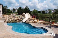 fiberglass pools | Fiberglass Pool (30' x 14') in Sugar Grove, IL
