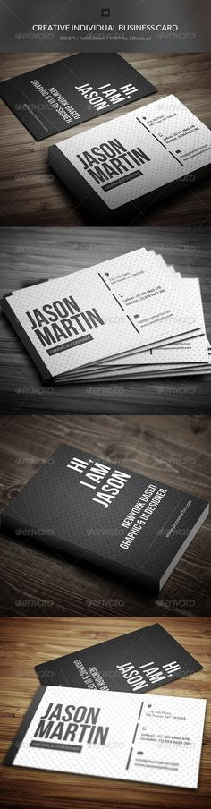 Creative Individual Business Card - 03