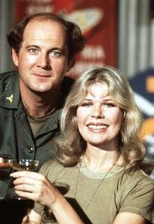 #mash #M*A*S*H - Charles Winchester with Margaret Houlihan (Hot Lips)   ..rh