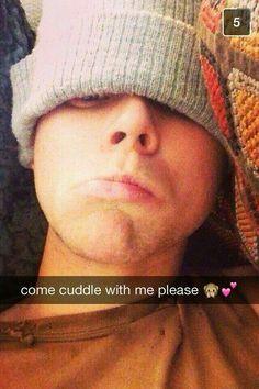 imagine Ashton sending you this snapchat  xxx