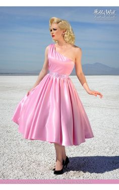 Pinup Couture - Valerie Dress in Baby Pink | Pinup Girl Clothing