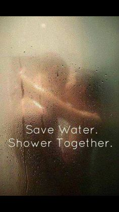;) save water