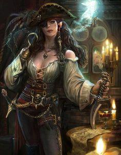 Artist: Unknown - Title: Unknown - Card: Vengeful Captain Hook
