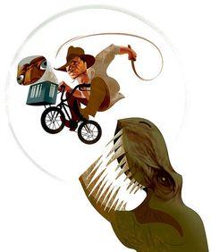 Indiana Jones + E.T. + Jurassic Park - André Carrilho