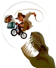 Indiana Jones + E.T. + Jurassic Park - André Carrilho