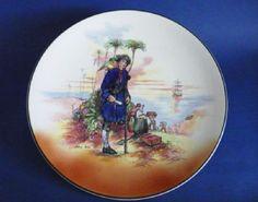 Royal Doulton 'Treasure Island' Series Ware Chop Dish or Charger D6376 c1950