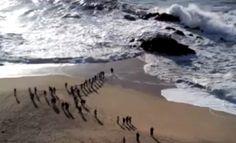Policia Marítima salva jovens presos em miradouro da praia de Vila do Conde