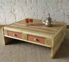 50 fotos e ideas para hacer muebles con paléts de madera. | Mil Ideas de…