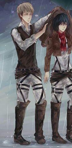 Jean x Mikasa SNK