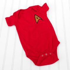 Star Trek onesie