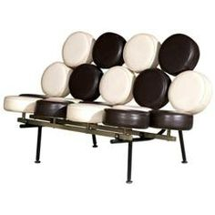 Marshmallow Chair, George Nelson,1956, USA