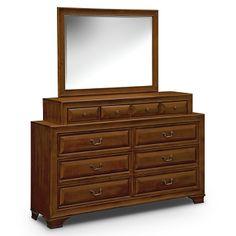 Hereford Dresser & Mirror; $549.99   Furniture.com