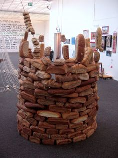Bread castle....eat your way to freedom!