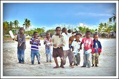 The plastic bottles gang of Zanzibar (by ©Jean Paul TopSecret)
