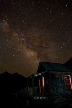 Alpine Loop, Colorado ~ The Milky Way & Animas Forks, ghost town located between Silverton & Lake City Colorado