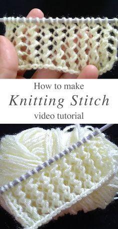 Beginner Knitting Patterns, Knitting Paterns, Knit Patterns, Knitting Projects, Knit Stitches For Beginners, Knitting Tutorials, Craft Patterns, Knitting Accessories, Knit Or Crochet