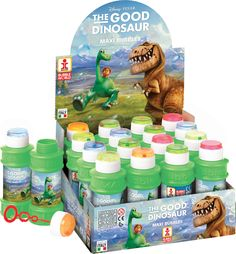Bolle di Sapone 60 ml The Good Dinosaur