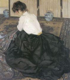 Alfred Henry Maurer. An Arrangement. An Arrangement received first prize at the 1901 Carnegie International Exhibition.