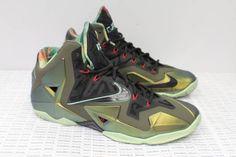 detailing bbe41 af2da Nike Lebron XI 11 Kings Pride Sz 13 616175-700 Clean!   Kixify Marketplace