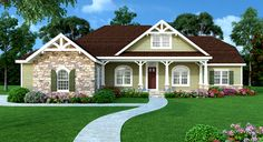 Beautiful Craftsman Home With Flex Room - 3881JA   Craftsman, Northwest, 1st Floor Master Suite, Bonus Room, Butler Walk-in Pantry, CAD Available, Den-Office-Library-Study, MBR Sitting Area, PDF, Corner Lot   Architectural Designs