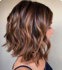 Shoulder length layers