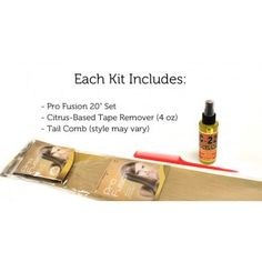 Pro Fusion Tape In Remy Hair Extensions Kit - Pro Extensions Hair Extensions - Hair Extensions by Brand - Hair Extensions