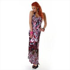 Maxi-Kleid mit Neckholder