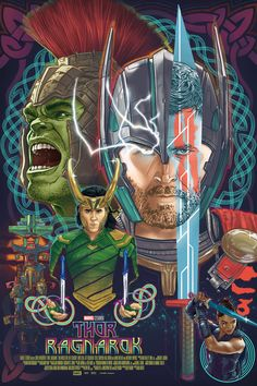 Thor Ragnarok Movie Poster 2017, Check out 21 Thor Ragnarok Easter Eggs and Missed Details - DigitalEntertainmentReview.com