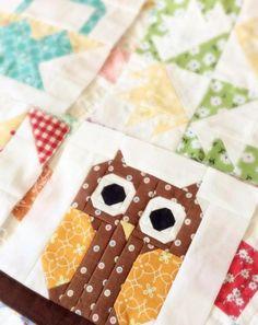 Cute Owl Quilt Block | Craftsy