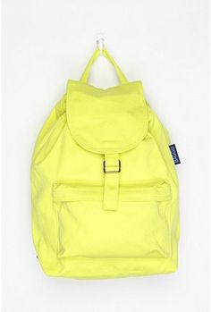 e4f542ed4f25 Practical  amp  on trend in this fun neon .. this Baggu canvas backpack for