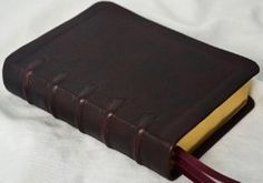 Leonard's Bookbinding ...recover bibles w/ premium leather  <3 <3 <3