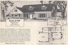 ... 1950s Home, Colonial And House Plans On Pinterest Colonial Home Plans  From The 1950 S