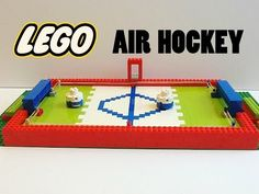 Lego Air Hockey Game - RubiksWiiU - http://hockeyvideocenter.com/lego-air-hockey-game-rubikswiiu/