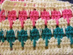 How To Crochet A Larksfoot Blanket Tutorial