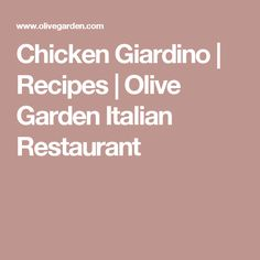 The Olive Garden Italian Restaurant menu features appetizers, soup, salad, classic Italian entrées, and desserts. Find a favorite today! Copycat Recipes, Sauce Recipes, Cooking Recipes, Dishes Recipes, Chicken Recipes, Yummy Recipes, Vegetarian Recipes, Yummy Food, Olives
