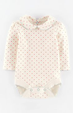 'Pretty' Collar Bodysuit (Baby Girls)