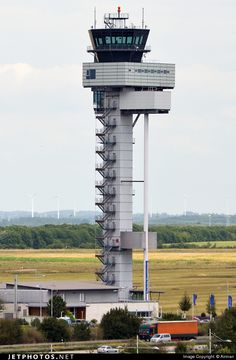 Airport Control Tower, Photo Online, Airports, Atc, Halle, Aviation, Leipzig, Hall, Aircraft