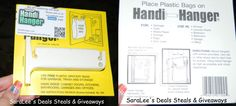 Recycle your FREE plastic bags with Handi Hanger Review & Giveaway 9/10/13 US Daily http://wp.me/p2Zbi5-X2