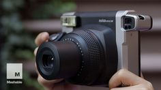 With a retro body, the Fujifilm Instax Wide 300 might just inspire you to delete Instagram from your smartphone. Read Ray's full review: http://on.mash.to/1K...
