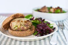 Turkey-day inspired fennel and apple turkey burgers #recipes #healthyrecipes #food
