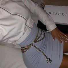 @AliyaMadani Boujee Outfits, Club Outfits, Skirt Outfits, Trendy Outfits, Summer Outfits, Cheap Fashion, Fashion Women, Teen Fashion, Maxi Dresses