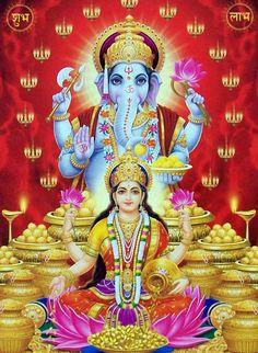 A beautiful art print of Krishna, Shiva, Ganesha and Lakshmi Señor Krishna, Shri Ganesh, Lord Ganesha, Krishna Leela, Lord Krishna Images, Radha Krishna Images, Bollywood Stars, Navratri Puja, Lord Murugan Wallpapers