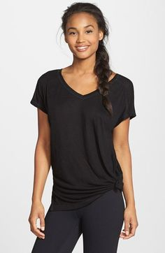Zella 'Peace Out' Short Sleeve Studio Tee | Nordstrom