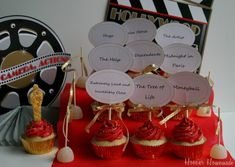 """Welcome toCupcake Tuesday! Be sure to check out the ALL NEWCupcake Heavenpage! And if you are in need to a special cupcakedesign, use the """"Be a Hero"""" area! On Sunday, the glitz and glam of the ..."""